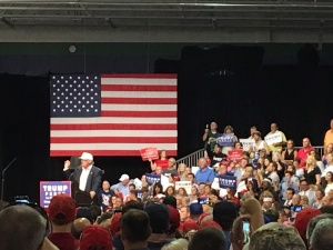 Donald Trump in Dimondale, Michigan 8.19.16